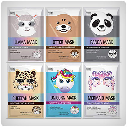 Epielle Assorted Character Facial Sheet Masks