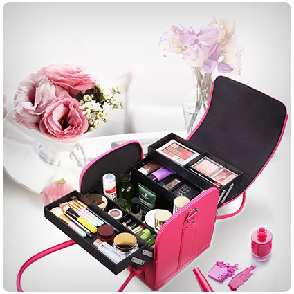 HOMFA Makeup Train Case