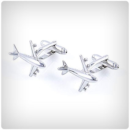 MRCUFF Airplane Cufflinks