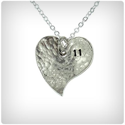 Pirantin Anniversary Heart Necklace
