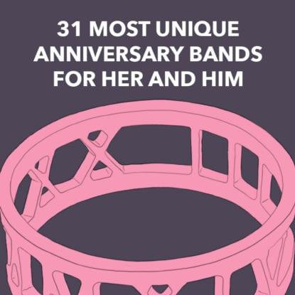 Unique Anniversary Bands