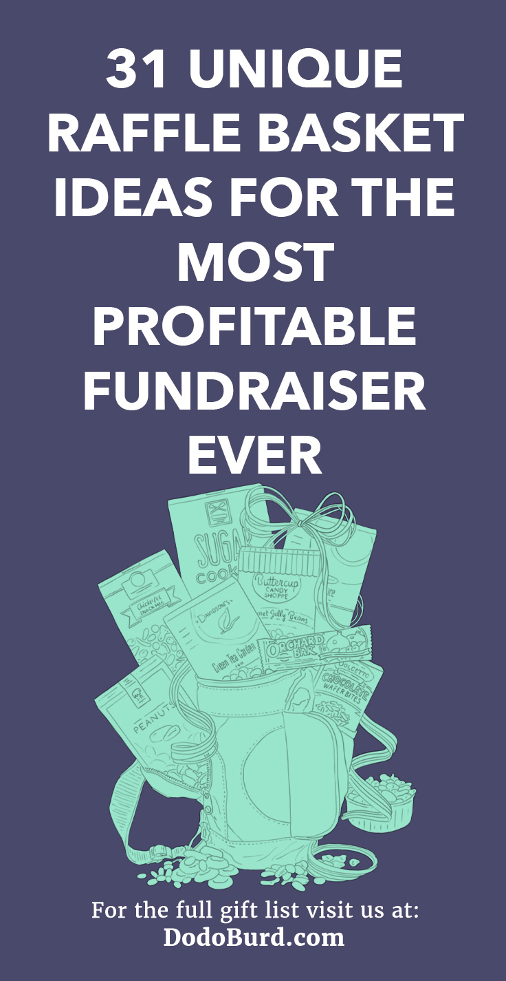 31 Unique Raffle Basket Ideas For The Most Profitable Fundraiser Ever Dodo Burd