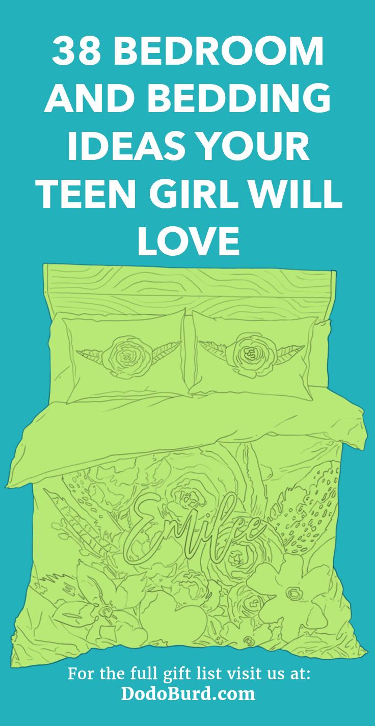Teen Girl Bedding and Bedroom Decor Ideas