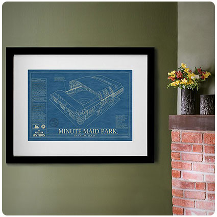 Baseball Stadium Blueprints