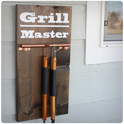 Diy Hanging Grill Tool Display Sign