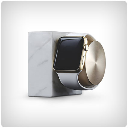 Marble Weighted Charging Dock for Apple Watch