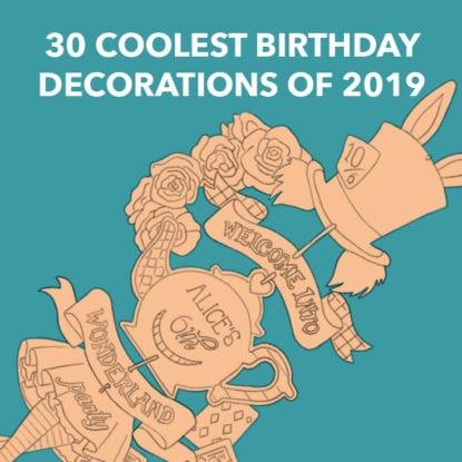 Cool Birthday Decorations