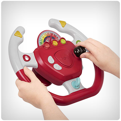 Geared to Steer Interactive Driving Wheel