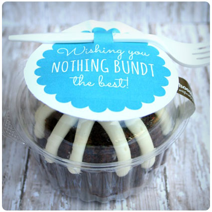Bundt Cake Birthday Gift