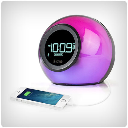Color-Changing Alarm Clock Radio