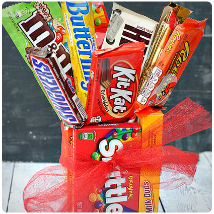 Diy Candy Bar Bouquet