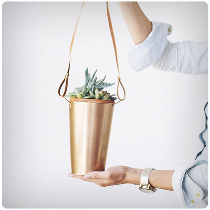Diy Copper Hanging Planter
