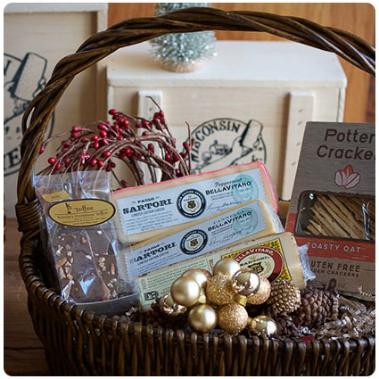 Diy Gourmet Food Gift Basket