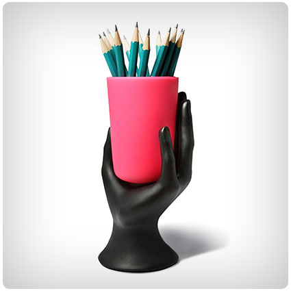 Hand Cup Pen Holder