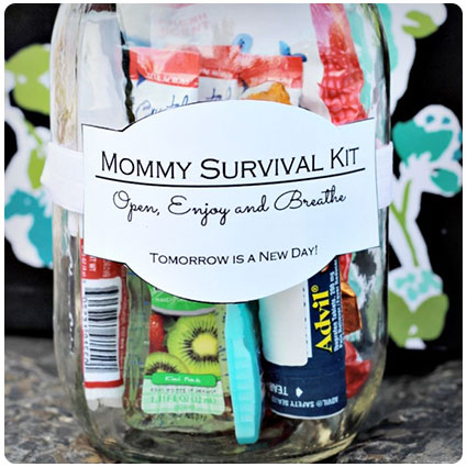 Mommy Survival Kit In A Jar
