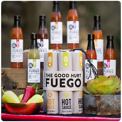 The Good Hurt Fuego Hot Sauce Set