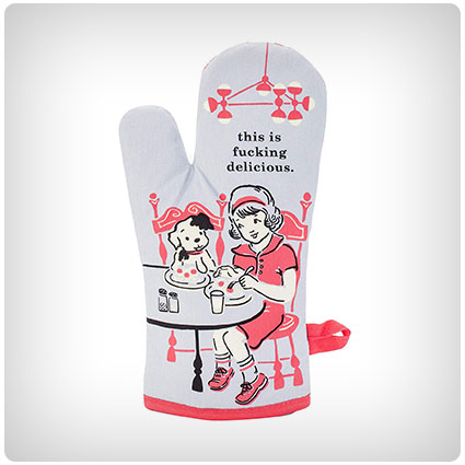This is F--king Delicious Oven Mitt