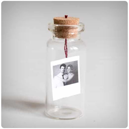 Diy Tiny Message/Photo in a Bottle