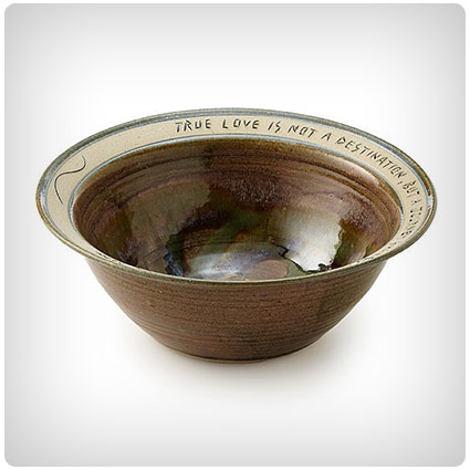 Journey of True Love Serving Bowl
