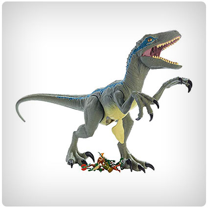 Jurassic World Super Colossal Velociraptor