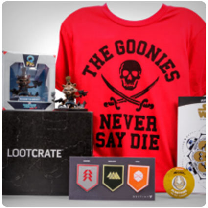LootCrate Subscription Box for Geeks