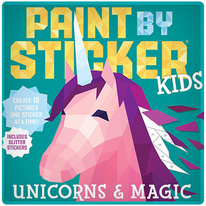 Paint by Sticker Unicorns and Magic