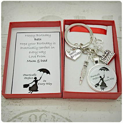Personalised Mary Poppins 50th Birthday Gift