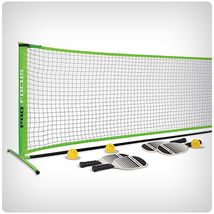 Pro Focus Pickleball Net Set
