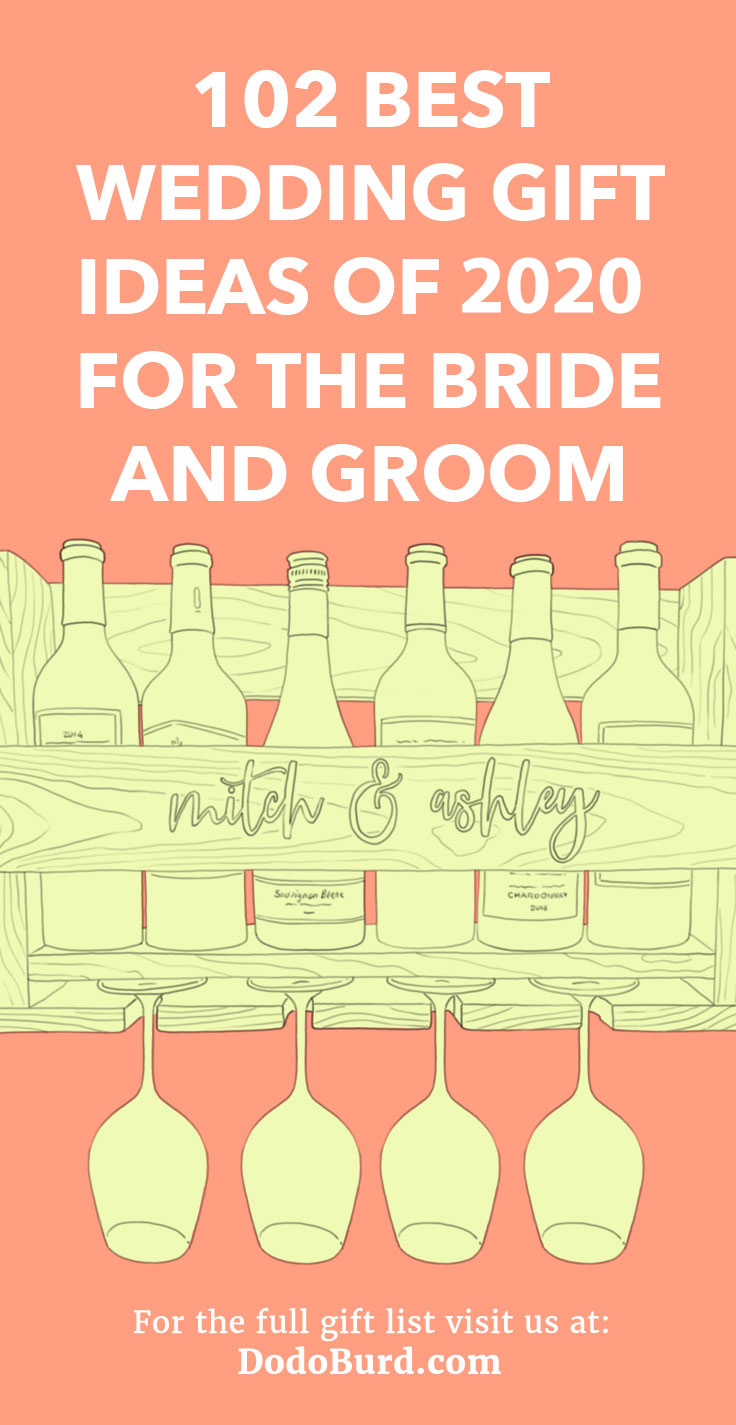 The best wedding gifts both the bride and groom will love and use.