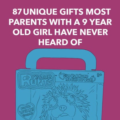 gifts for 9 year old girls