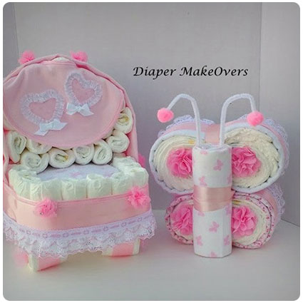 Baby Girl Baby Shower Gift Set
