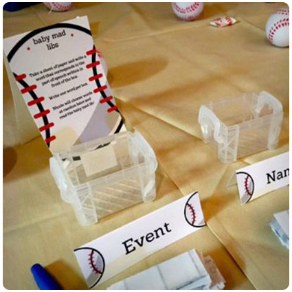 Diy Baby Shower Mad Libs