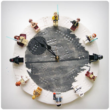 Diy Interchangeable LEgo Star Wars Clock