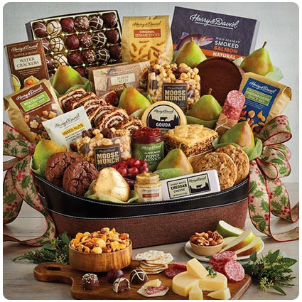 Grand Hearthside Gift Basket
