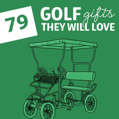 our golfer will love these super unique golf gifts! Save this list for the next time you need a gift idea.