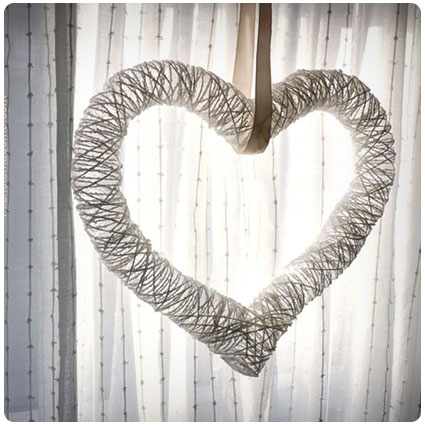 Sunkissed Heart Wreath