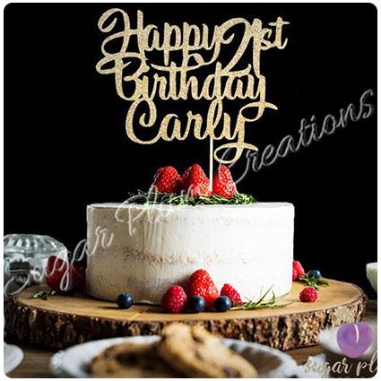 Amazing 23 Unique 21St Birthday Cake Ideas For A Colorful Boozy Birthday Birthday Cards Printable Giouspongecafe Filternl