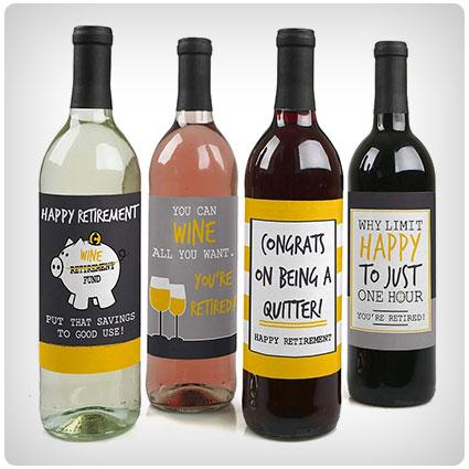 Personalised Best Teacher Metal Wine Bottle Neck Tag Label Fun Gift Present