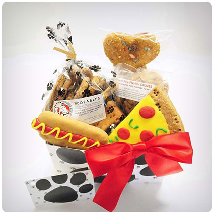 Woofables Dog Gift Basket