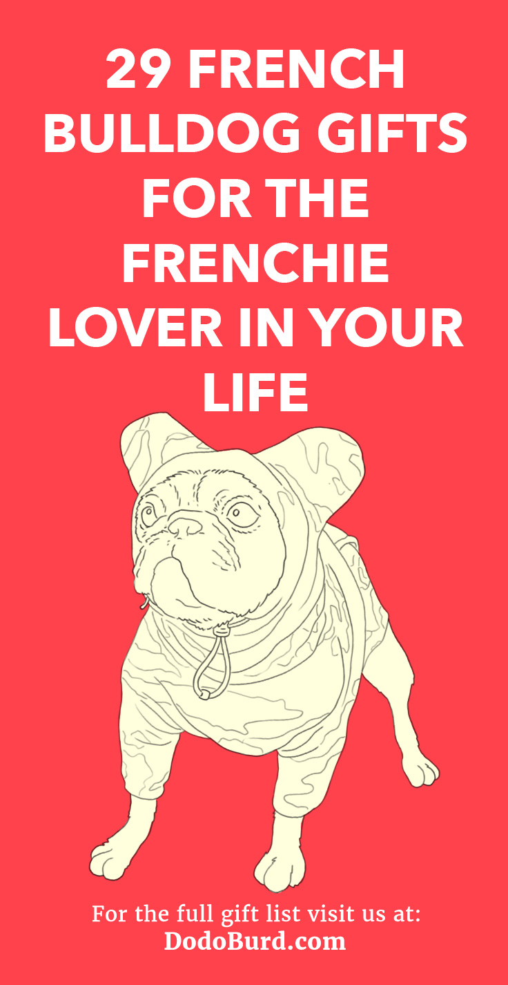 Adorable gifts for french bulldog lovers.