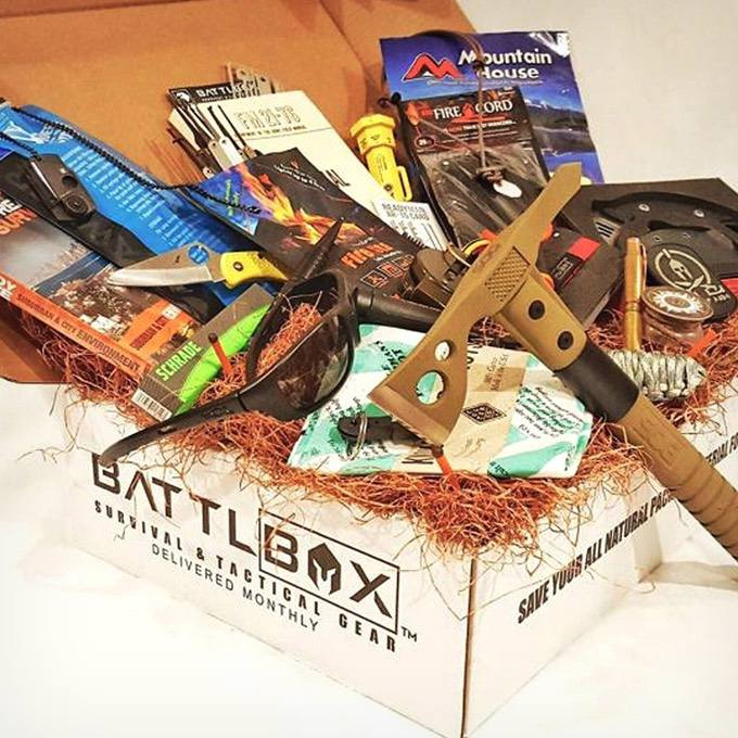 BattlBox Survival Gear Subscription Box
