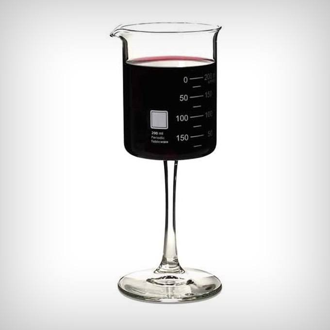 Periodic Tableware Beaker Wine Glass