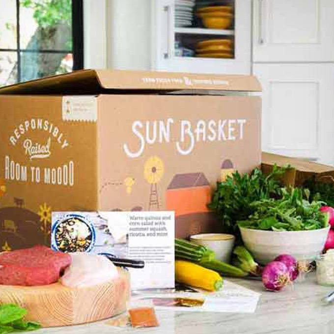 Sun Basket Meal Delivery Subscription