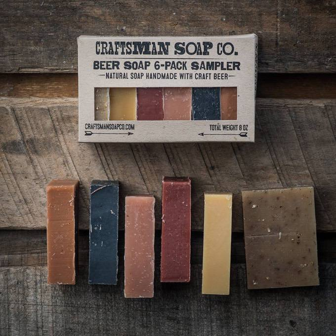 Beer Soap 6-Pack Sample Set