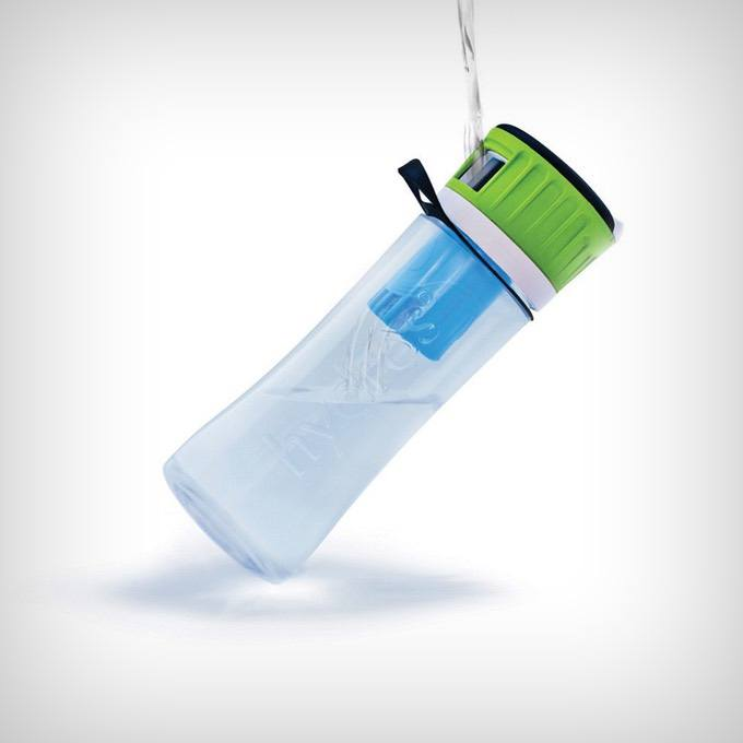 Hydros Filtering Water Bottle