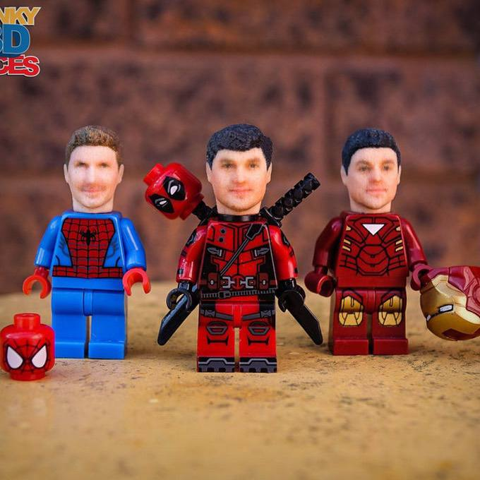 LEGO Mini Figure Custom Heads