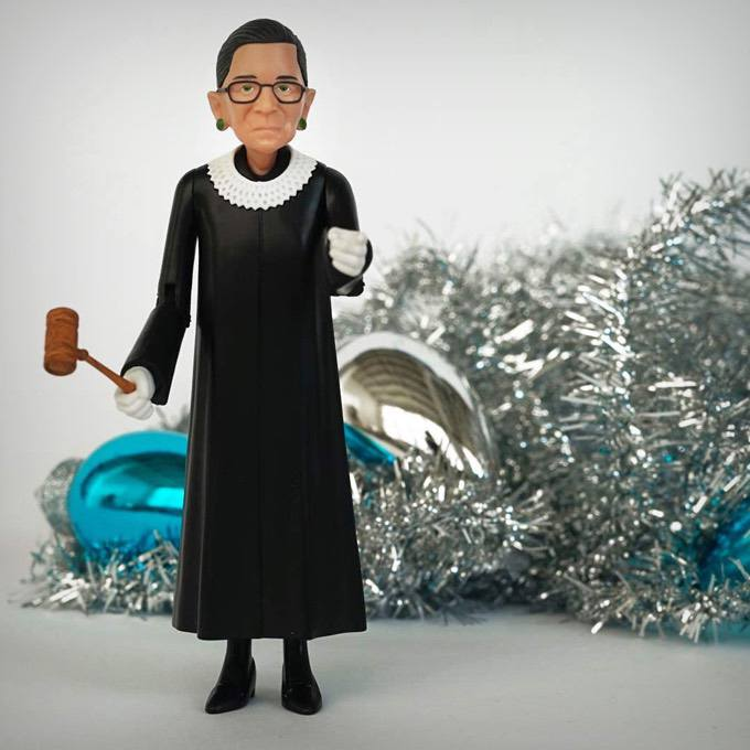Notorious Ruth Bader Ginsburg Action Figure