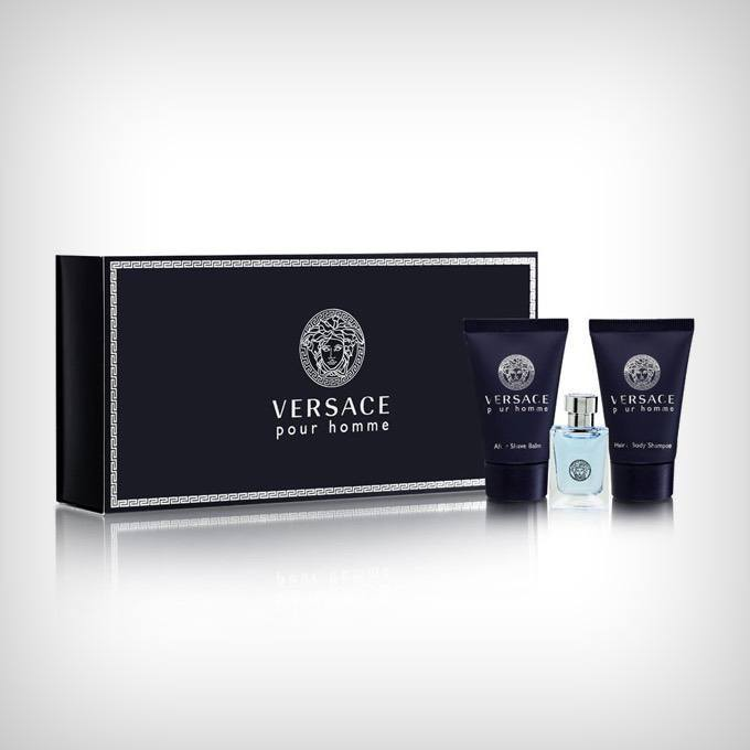 Versace Pour Homme for Men Gift Set