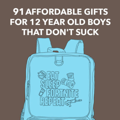 The best gifts for 12 year old boys that they will actually love and use.