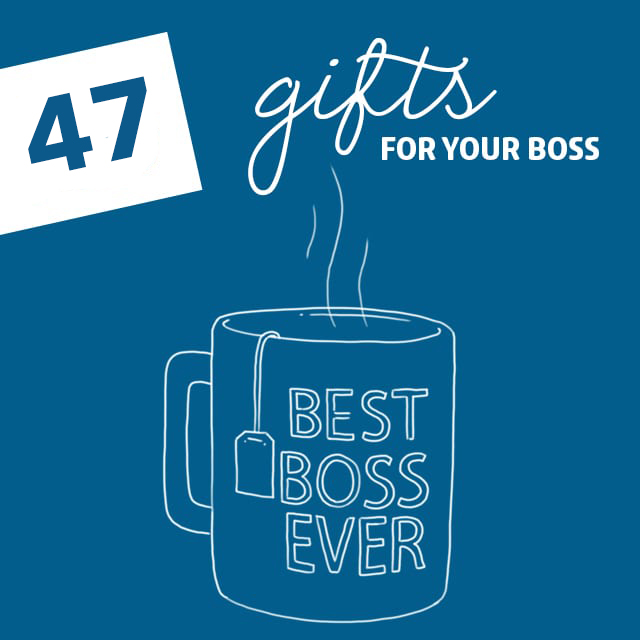 The best gifts for your boss that they will actually like.